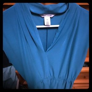 Teal Blouse - GREAT DEAL!